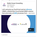 Glad to announce that noble house.asia partnered with our product. Noble house is a top HR consulting firm and they found our product to be better than competition. #well-done uKnowva Team