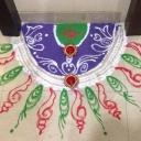 Rangoli for Dussehra
