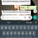We got appreciation from client, for the UX design for JITO.  Mitali Patel <br />Moreover, Abhijeet is going to show this to keen businesss members, who are having meeting today in Leela.