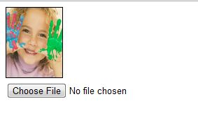 Uploading Image Files & Preview it Immediately without actually