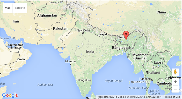 How to set Indian map correctly when using Google Maps API